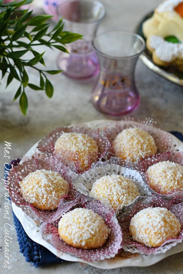 Recette boule de neige, gâteau à la noix de coco