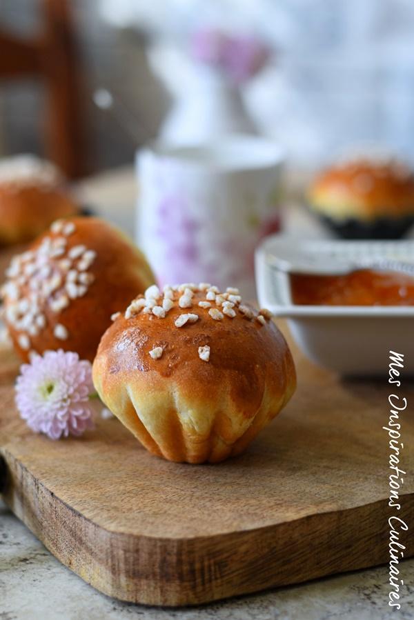 recette Brioche à la fleur d'oranger moelleuse