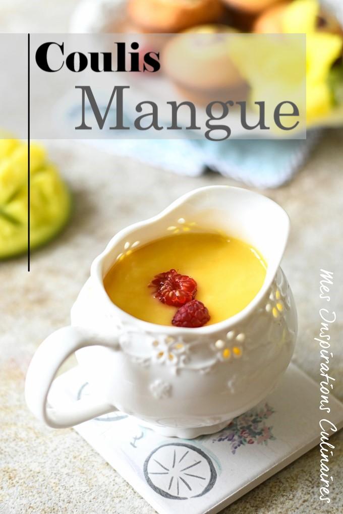 coulis de mangue pour gateau