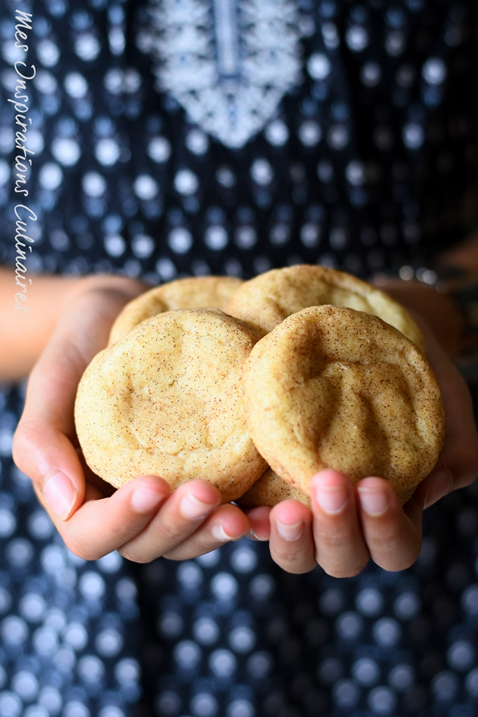 Les snickerdoodles biscuits à la cannelle