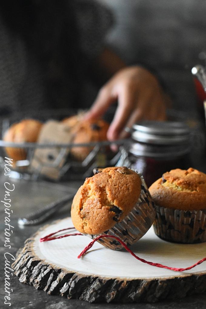 Recette Muffins moelleux au chocolat noir et ivoire