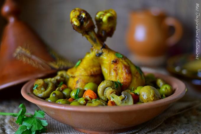 Recette poulet aux olives, recette facile