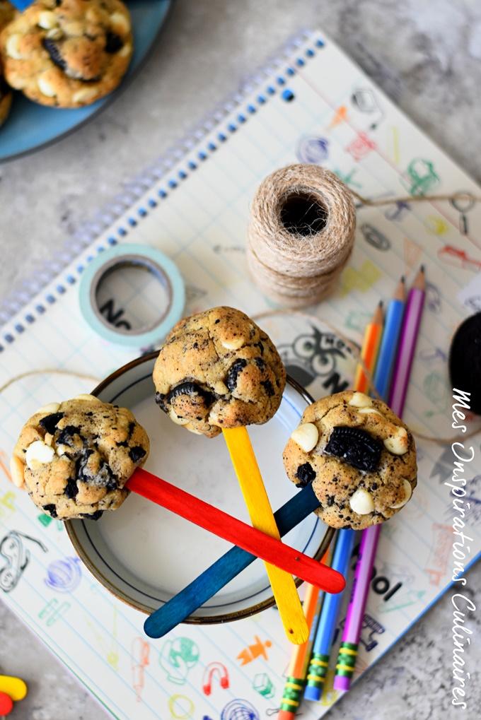 Cookies aux Oreo et chocolat blanc