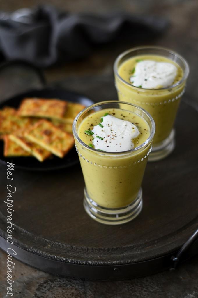 soupe de courgette vegetarienne