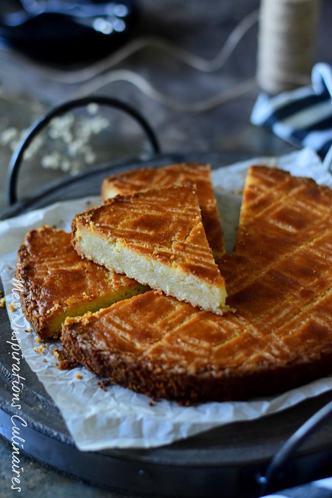Le Boterkoek, gâteau au beurre Hollandais facile et economique