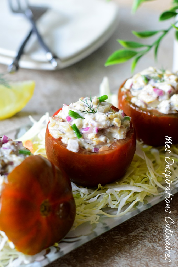 Recette tomate farcie sardine
