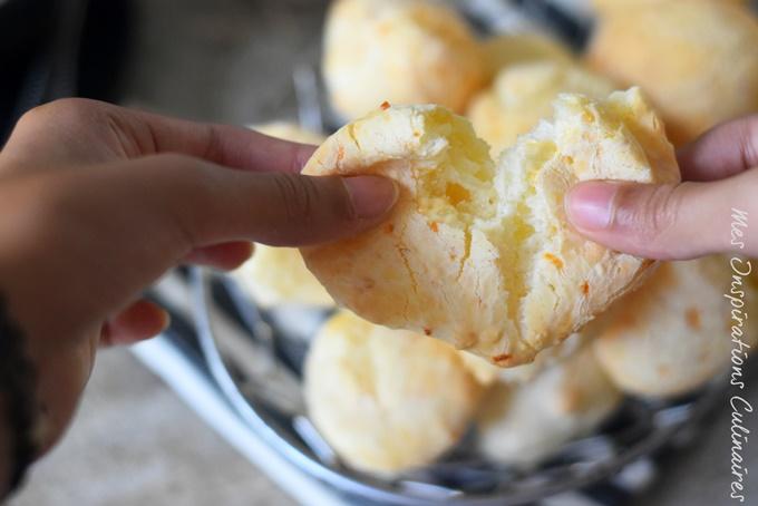 Pain au tapioca et fromage (Pao de queijo)