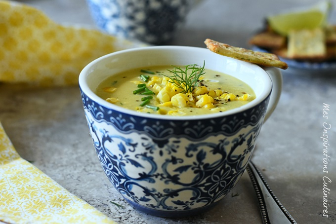 Soupe de maïs (frais) facile