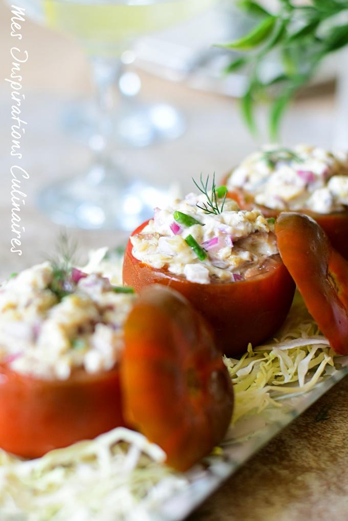 Recette tomates farcies sardine facile