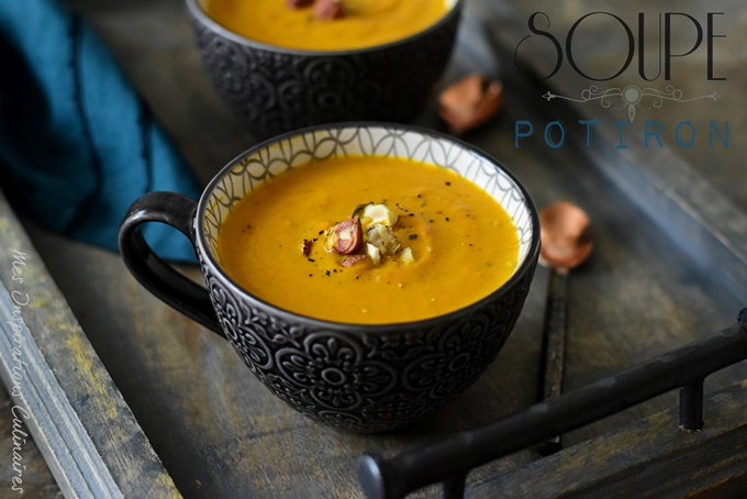 Recette soupe de potiron crémeuse
