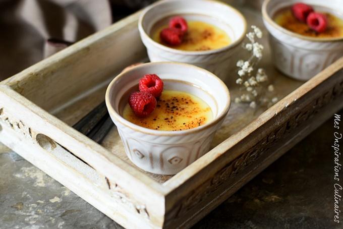 Recette de Crème Catalane au lait concentré sucré