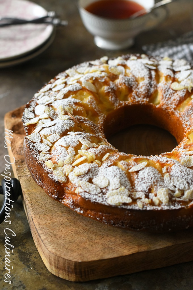 Gâteau au lait concentré sucré aux pommes