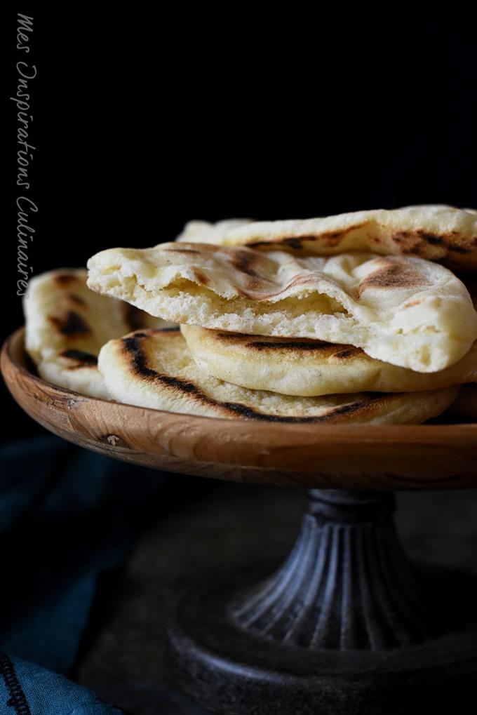 Pain plat comme des pitas recette turque
