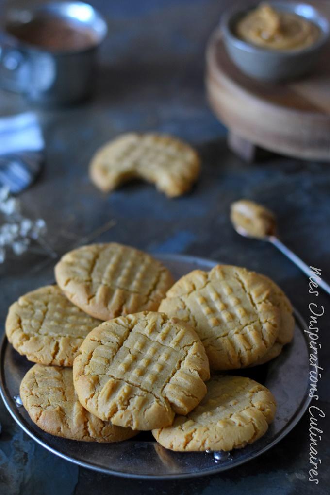 Cookies au peanut butter (beurre d'arachide)