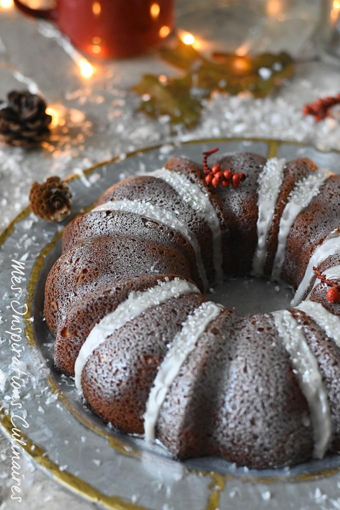 Bundt cake citron et ricotta