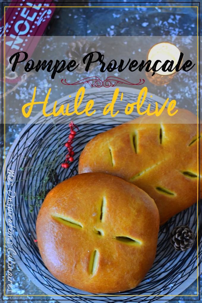 Pompe à l'huile, recette provençale