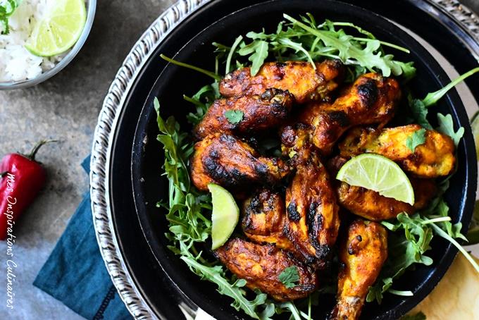Recette poulet tandoori au four