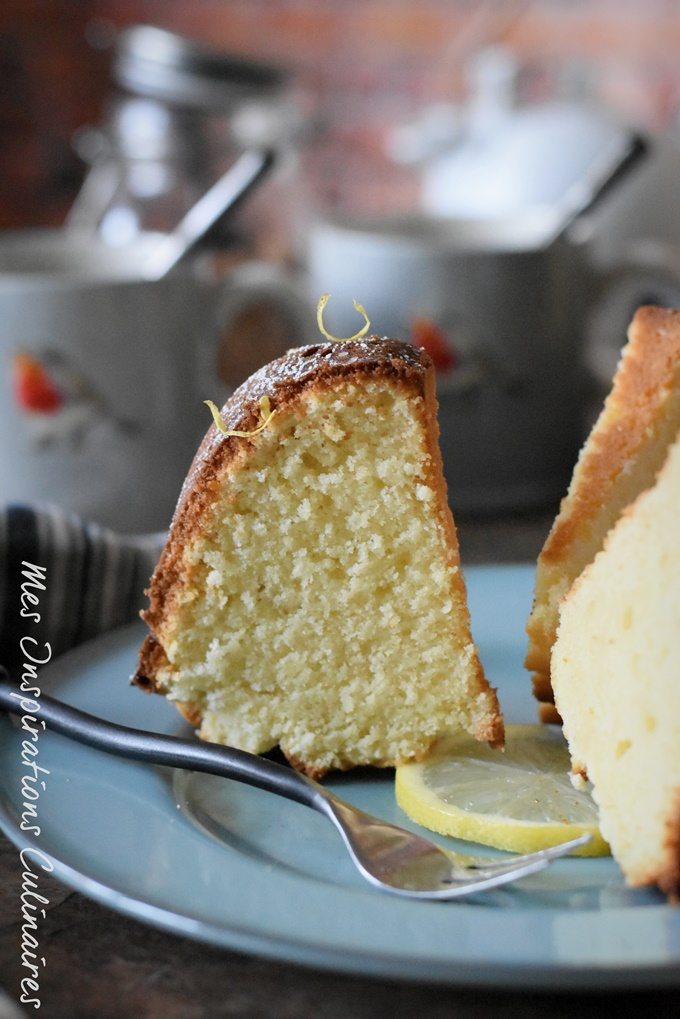Gâteau mascarpone citron