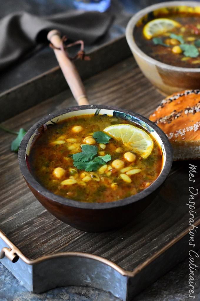 Chorba sans viande (soupe végétarienne)