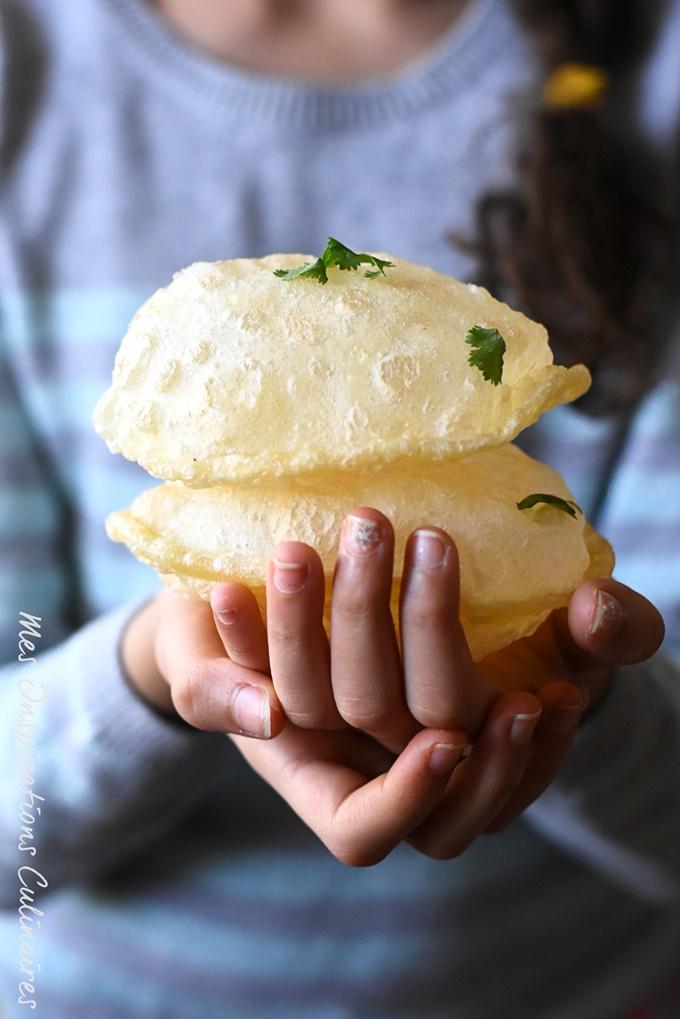 Pain frit indien (Luchi Bengali)