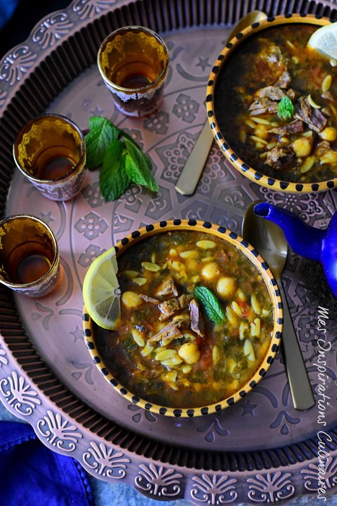 Soupe Shorba Libyenne (الشوربة الليبية)