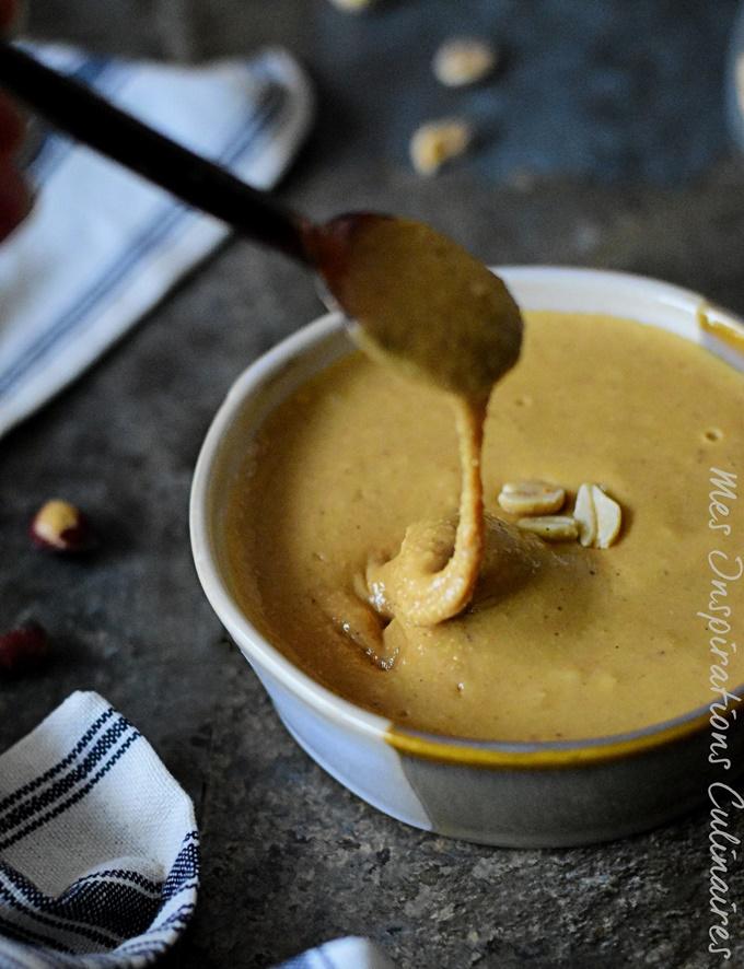 Beurre de cacahuètes : recette maison