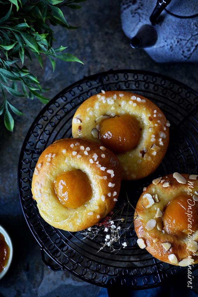 Recette Brioches aux abricots moelleuses
