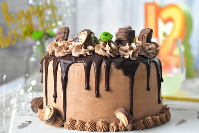 Le Layer cake kinder bueno