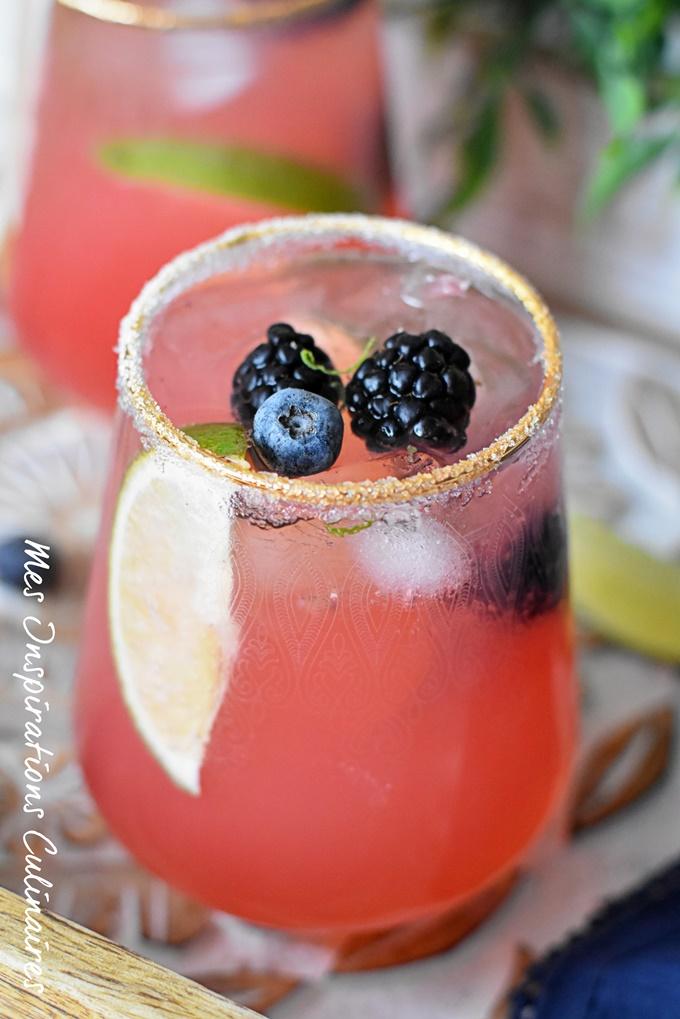 Recette Cocktail de pamplemousse mexicain sans alcool