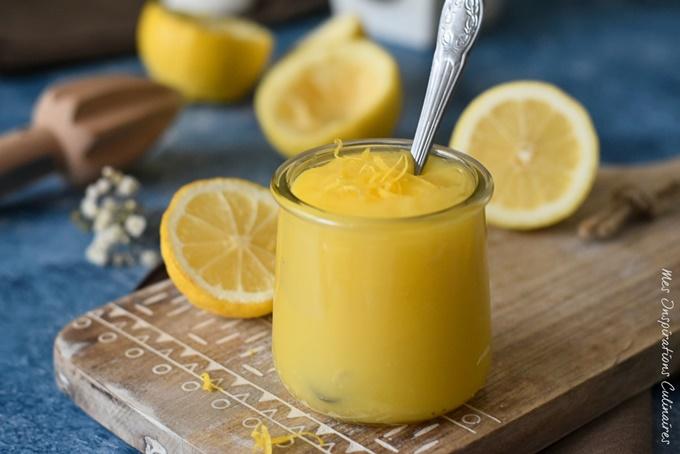 Crème de citron ou lemon curd au micro onde