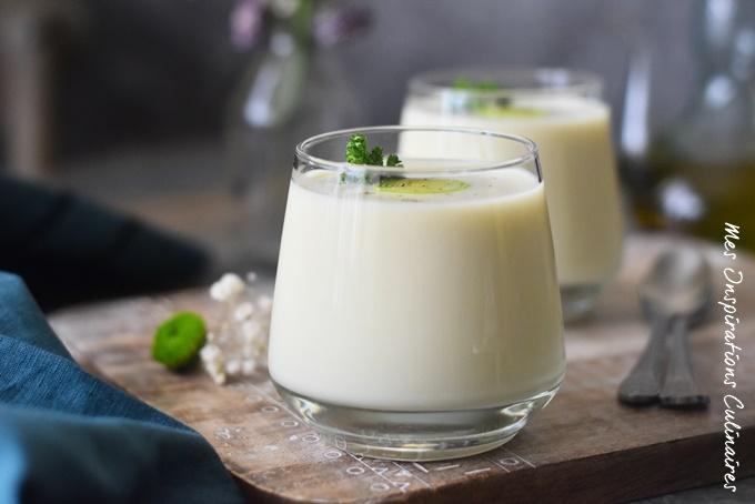 Crème Vichyssoise (soupe de poireaux)