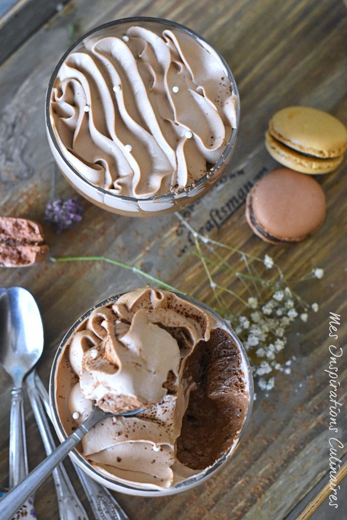 mousse au chocolat facile de Felder