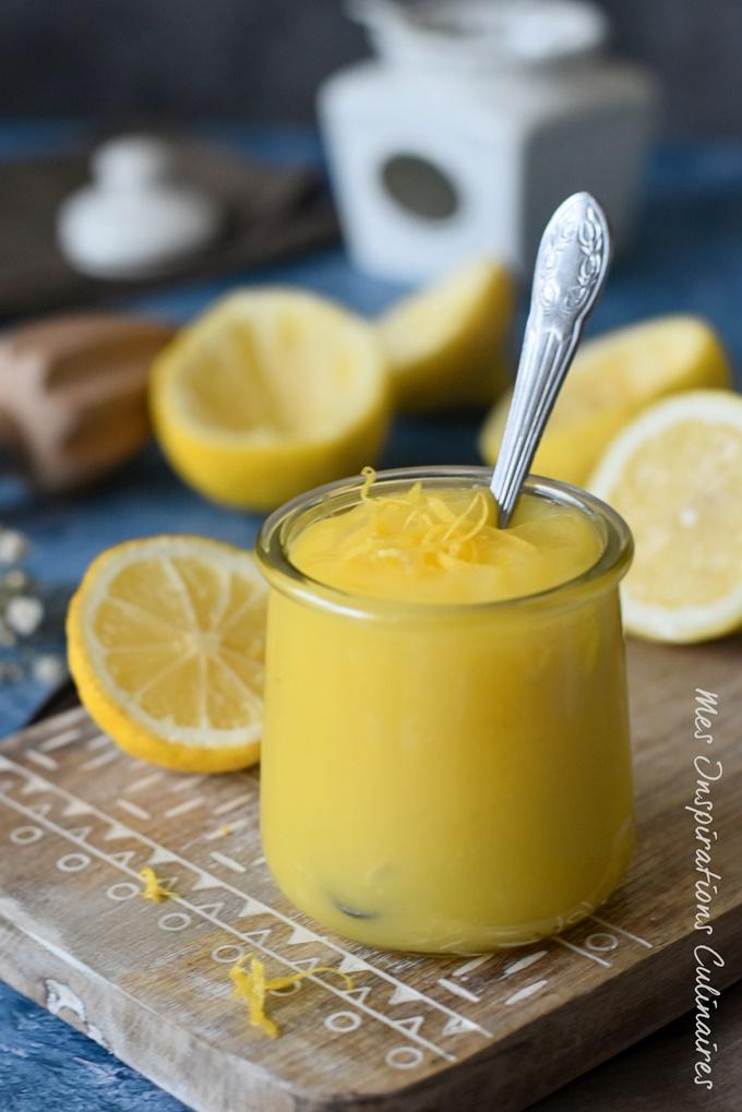 Recette de Crème de citron au micro onde aux oeufs entiers