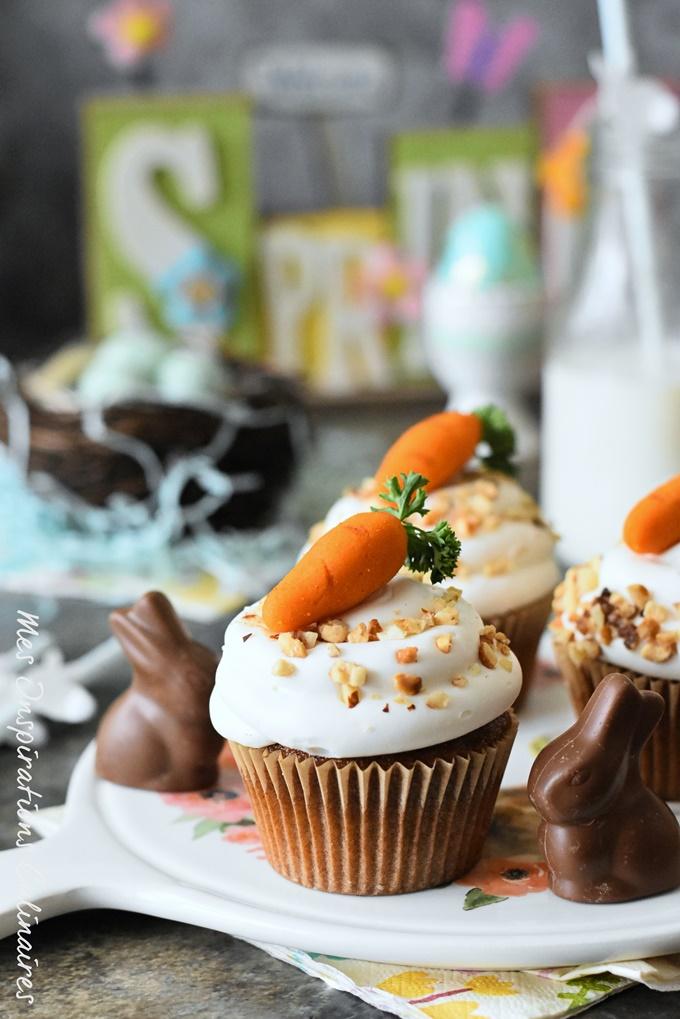 Cupcakes façon carrot cake recette facile