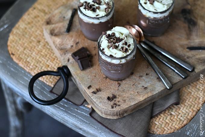 Pudding au chocolat sans oeufs