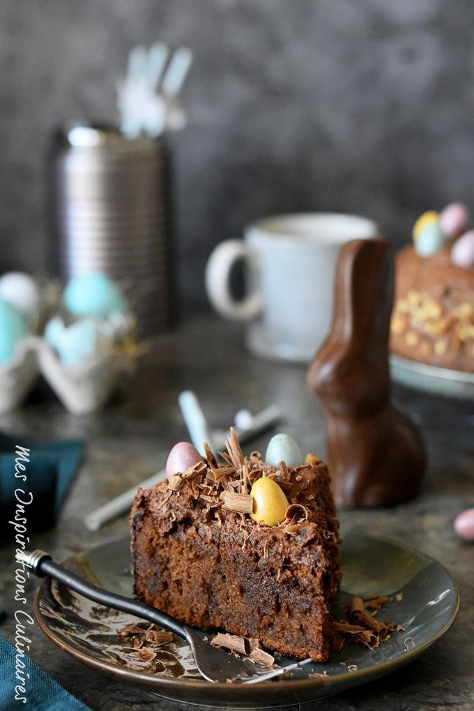 Gâteau namandier au chocolat