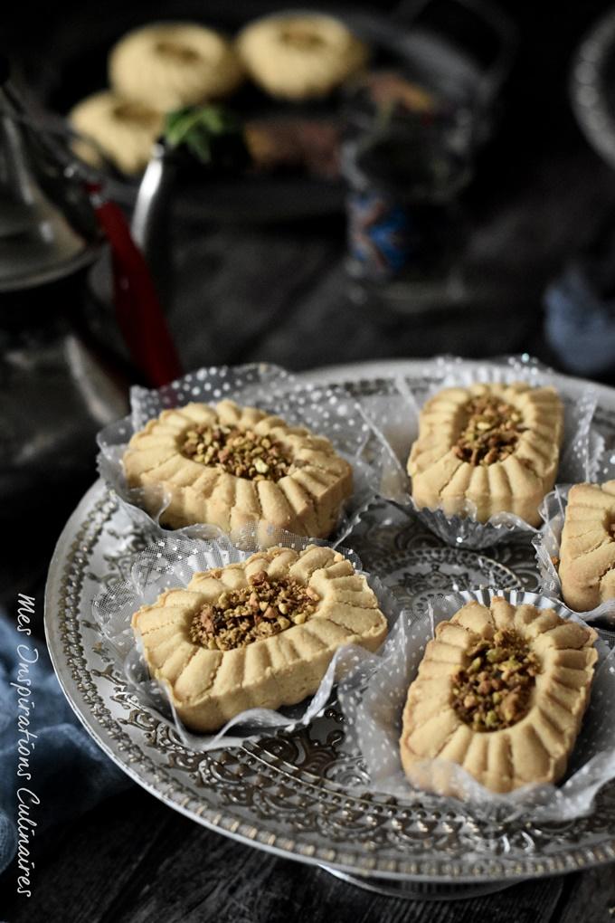 recette Ghraïba tunisienne (à la farine de pois chiche)