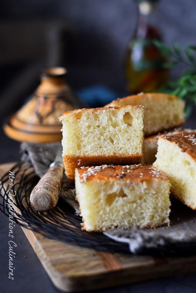 khobz dar ultra moelleux a la farine (sans pétrissage)