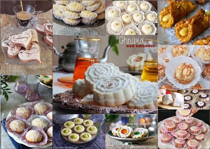 Gâteaux Eid el fitr 2019