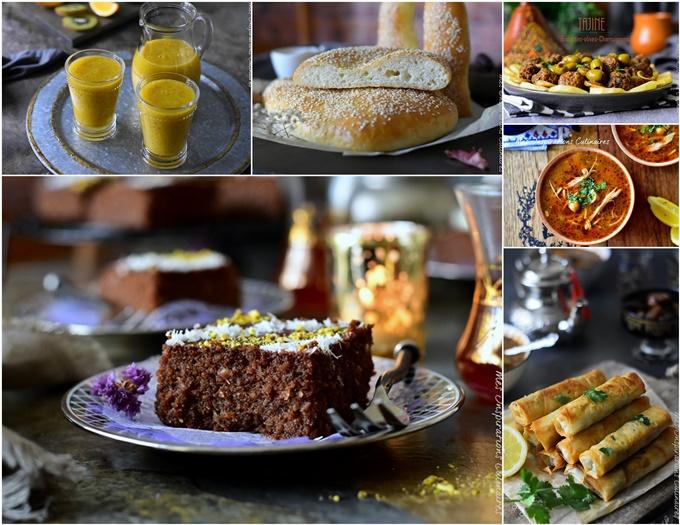 Idées Menu ramadan (Chorba, boureks, plats, chhiwate)