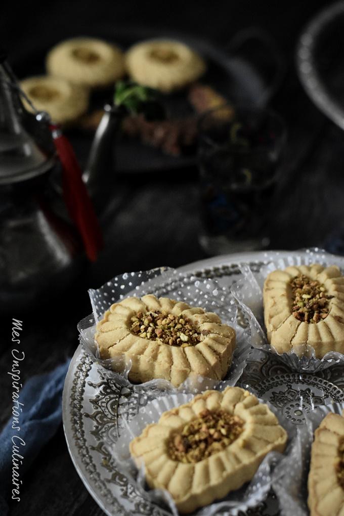 Ghraïba tunisienne à la farine de pois chiche