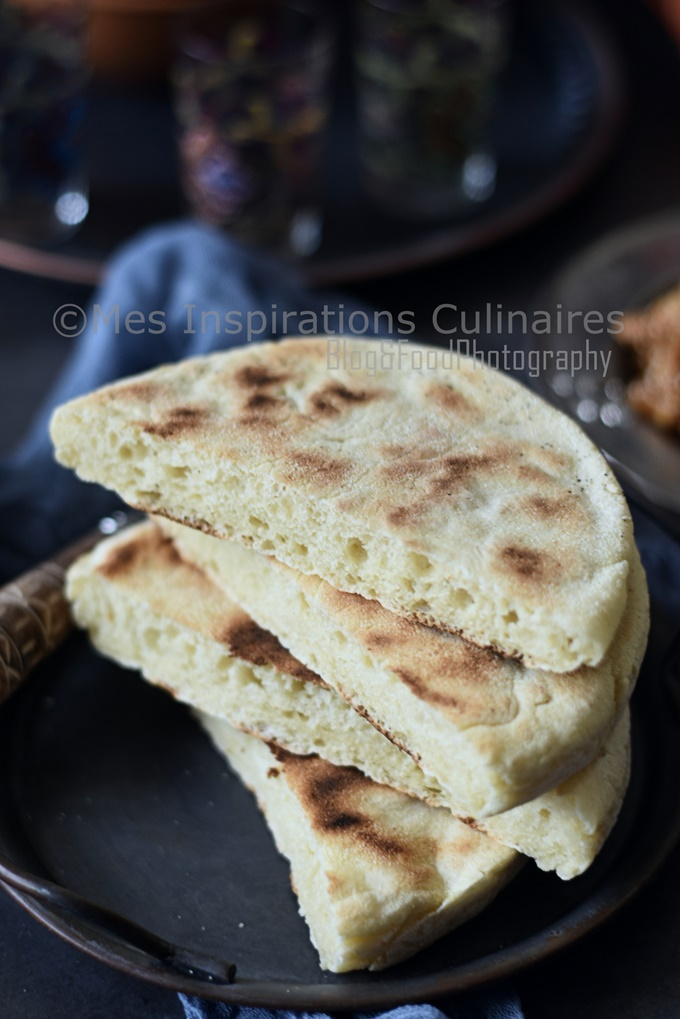 matlouh moelleux (cuisine algerienne) sans pétrissage