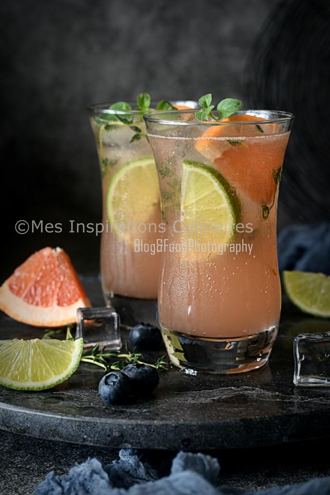 Mocktail tendance 2019 ou cocktail sans alcool