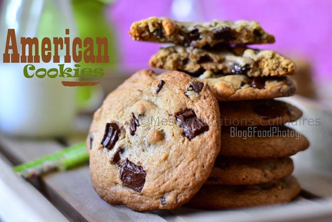 Cookies triple chocolat (recette américaine)