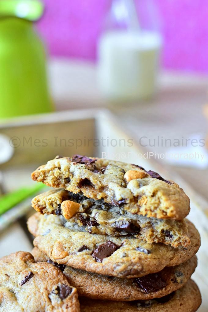 Recette Cookies triple chocolat (recette américaine)