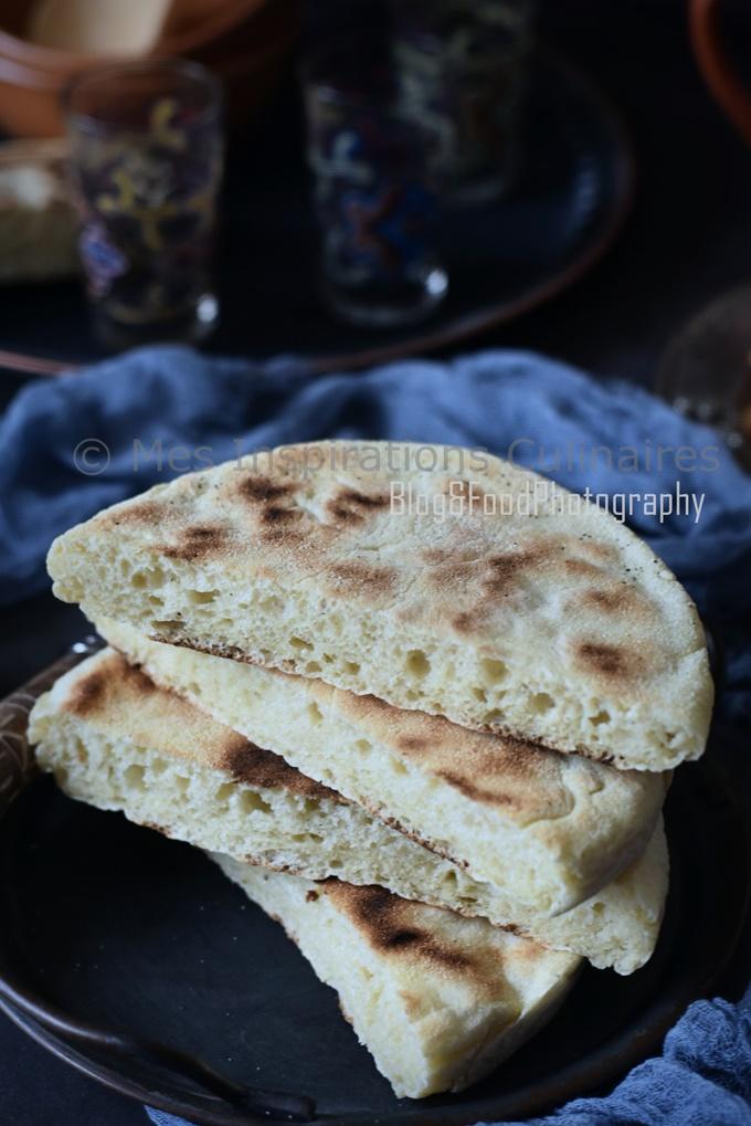 matlouh algerien moelleux sans pétrissage au blender