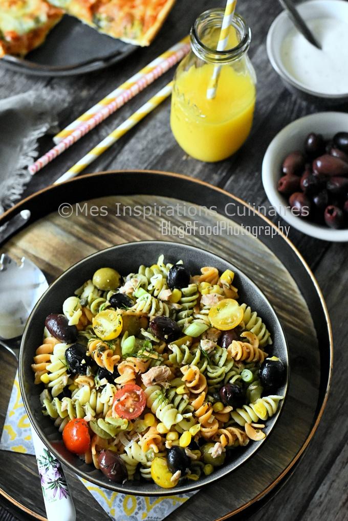 Salade de pâtes au thon facile