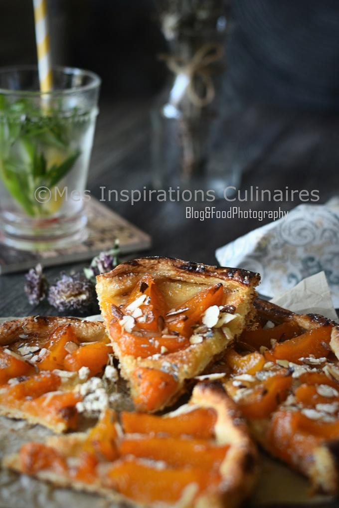 Tarte fine aux abricots recette facile et rapide