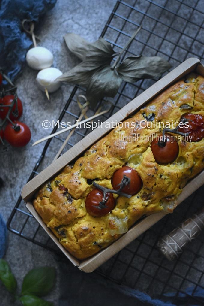Cake aubergines (tomate et Mozzarella)