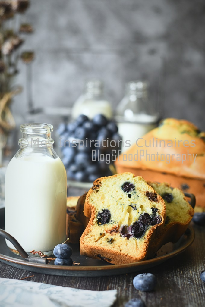 Gâteau du matin aux myrtilles